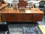 Sale 8859 - Lot 1060 - G-Plan Fresco Sideboard with 3 Doors & 4 Drawers