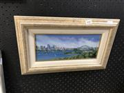 Sale 8903 - Lot 2087 - Harbour Scene Signed Lower Right Diana Lane (40cm x 24cm)