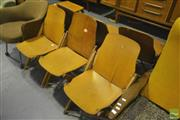 Sale 8287 - Lot 1042 - Set of Six Vintage Folding Chairs