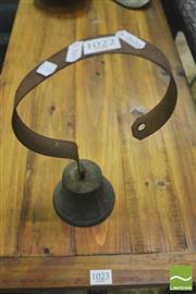 Sale 8392 - Lot 1022 - Brass Shop Door Bell