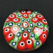 Sale 8402D - Lot 62 - Murano Millefiori Paperweight (Height - 5cm)