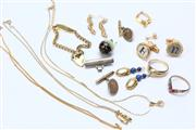 Sale 8670 - Lot 294 - Small Collection of Jewellery inc Cufflinks and Rings