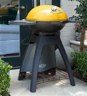Sale 8838H - Lot 5 - A beef eater outdoor portable barbecue with gas tank. Height 98cm