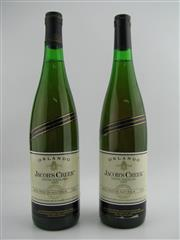Sale 8439W - Lot 710 - 2x 1987 Orlando Jacobs Creek Riesling, Coonawarra