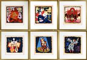 Sale 8459 - Lot 537 - Robert Juniper (1929 - 2012) (6 works) - Opera Series, 2004 sheet size: 33 x 30.5cm, each (frame size: 51.5 x 49cm, each)