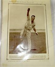 Sale 8460C - Lot 70 - The Sydney Mail Wednesday January 25, 1933. Supplement full page photo T.B. Mitchell. Very good.