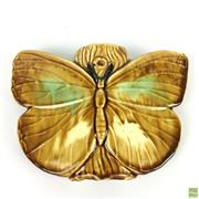 Sale 8649R - Lot 168 - Ceramic Hanging Australiana Wall Planter in Butterfly Form (H: 15 W: 23 D: 4.5cm)