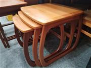 Sale 8741 - Lot 1071 - Very good quality Parker Knoll Teak Nest of Tables
