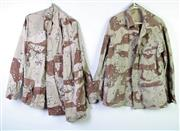 Sale 8952 - Lot 69 - US Army Desert Storm Camouflage Shirts