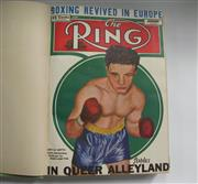 Sale 8125 - Lot 75 - The Ring 1946, a complete bound set of 12 issues with covers.