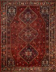 Sale 8402C - Lot 66 - Vintage Persian Shiraz 210cm x 215cm