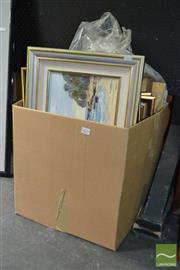 Sale 8503 - Lot 2071 - Group of (4) Original Paintings & Watercolours by Various Artists, various sizes