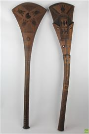 Sale 8546 - Lot 74 - Cultural Pair Of Clubs