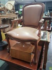 Sale 8566 - Lot 1234 - French Style Armchair