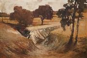Sale 8583A - Lot 5098 - Harold Lane (1925 - 2012) - The Australian Landscape 70.5 x 105cm