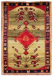 Sale 8725C - Lot 16 - A Persian Gabbeh Carpet, Hand-knotted Wool, 163x110cm, RRP $1,200