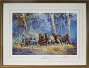 Sale 8973 - Lot 2062 - A DArcy Doyle Decorative Print Chase Up 73 x 85cm (frame), signed