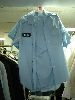 Sale 7490 - Lot 1213 - 5 BLUE SHORT SLEEVE SHIRTS WITH POLICE/SECURITY BADGES