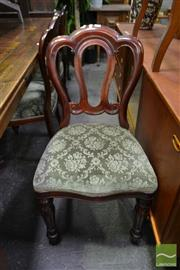Sale 8499 - Lot 1381 - Set of 6 Admiralty Back Dining Chairs