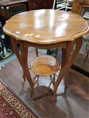 Sale 8740 - Lot 1396 - Tiered Timber Occasional Table