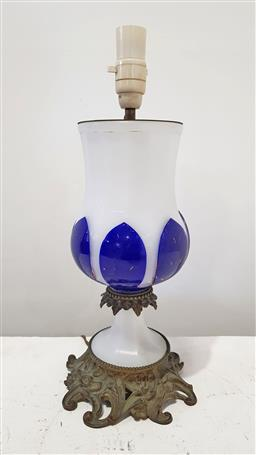 Sale 9157 - Lot 1060 - French table lamp (h48cm)