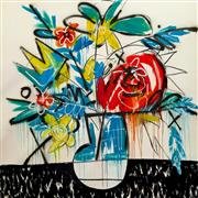 Sale 8301 - Lot 517 - Steve Hickok (1959 - ) - Bloom I 200 x 181cm