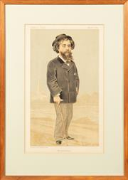 Sale 8653A - Lot 16 - A collection of three early Vanity Fair Spy prints, each 33 x 19cm