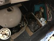 Sale 8759 - Lot 2426 - 3 Boxes of Sundries incl. Glasses, Plated Wares, Lamp, Cushions, Ceramics, etc