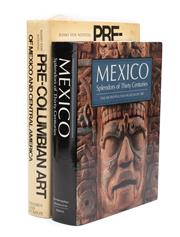 Sale 8864 - Lot 12 - Two books on Central American Art including Hasso von Winning, Pre Columbian Art of Mexico and Central America, 1969 together with T...