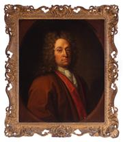 Sale 8994H - Lot 15 - Constantyn, Rene Auguste (c.1685 - 1726) - Antoine Clarembault signed and dated middle right
