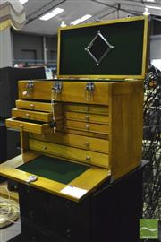 Sale 8368 - Lot 1028 - Travelling Jewellers Case