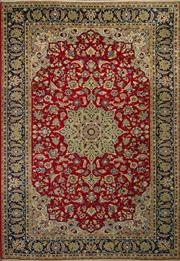 Sale 8424C - Lot 94 - Persian Kashan 305cm x 215cm
