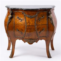 Sale 9135H - Lot 92 - A pair of European marble top commodes in excellent condition. 48cm Depth, 80cm Height 90cm Width