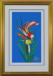 Sale 8134A - Lot 24 - Kevin Charles (Pro) Hart (1928 -2006) - Orchid 48 x 29cm