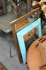 Sale 8115 - Lot 1223 - Gilt Framed Mirror w Another