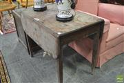 Sale 8341 - Lot 1080 - Mahogany Drop Leaf Table
