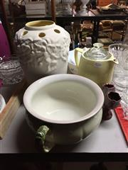 Sale 8659 - Lot 2240 - Large Collection of Ceramics incl a Winton Bowl, Falcon Ware Vase ( Small Chip) and Other Wares