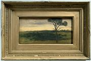Sale 8939A - Lot 5003 - Alice Anne Graham-Montgomery (1847 - 1931) (Duchess of Buckingham and Chandos and Countess Egerton of Tatton) - Sunset from Hill Vie...