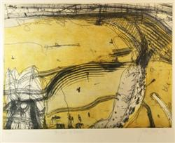 Sale 7885 - Lot 84 - John Olsen, Seaport of desire, etching, edition 29/90, 43.5 x 60.0cm, numbered, titled, signed and dated below image