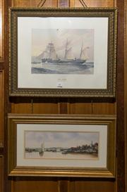 Sale 7981B - Lot 99 - Pair of Nautical prints
