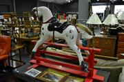 Sale 8013 - Lot 1018 - Rocking Horse