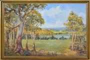 Sale 8374 - Lot 590 - James Alexander Crisp (1879 - 1962) - The Hawkesbury 62.5 x 96cm