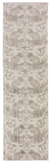 Sale 8725C - Lot 21 - A Vintage Turkish Isparta Carpet, Hand-knotted Wool, 282x82cm, RRP $1850