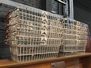 Sale 8859 - Lot 1087 - 10 French 1970s Shopping Baskets