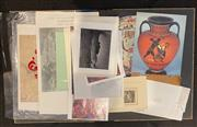 Sale 9005H - Lot 100 - A Folio of assorted prints and gallery posters