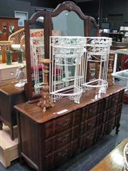Sale 7932A - Lot 1156 - Mirrored Back Chest of 9 Drawers