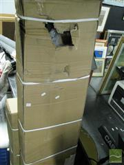 Sale 8217 - Lot 2081 - 2 Pieces of a Gym system & Box of Glasses