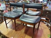 Sale 8532 - Lot 1075 - Set of 4 Teak McIntosh  with missing leg)