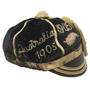 Sale 8733 - Lot 1 - New Zealand 'All Blacks' Rugby Honour Cap 1905