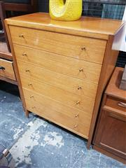 Sale 8723 - Lot 1093 - 1960s Heals of London Teak Chest